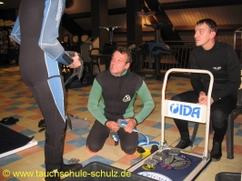 Ausbildung Klaus und Valentin