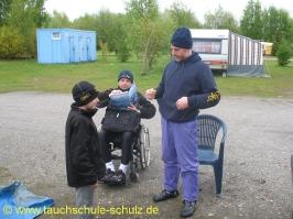 Handicap-Tauchbegleiter- Prüfung Teil III
